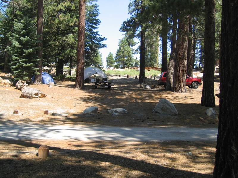 Boulder Basin Camping Photos <br> August 2003